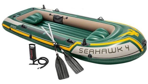 Kayak de pesca Seahawk 4 Intex