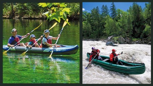 kayak hinchable tres plazas