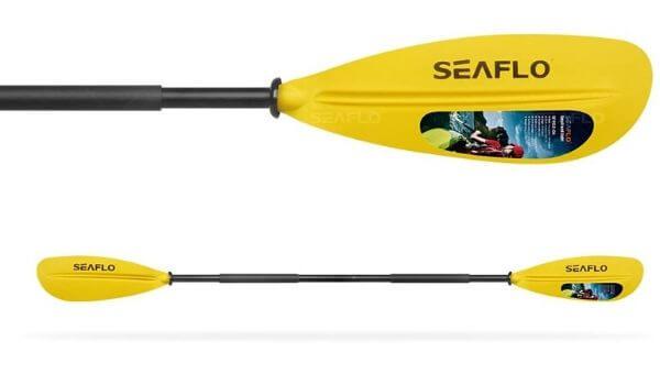 Pala para kayak de fibra Seaflo 220 cm